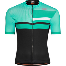 Sportful Team 2.0 Drift Maillot Hombre, miami green/black/bora green